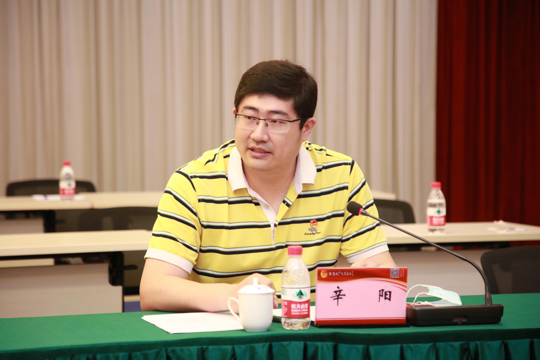 共青团中国南方航空股份有限公司地面服务保障部委员会书记辛阳现场进行分享。
