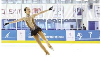 广东运动员在冰雪项目也有优势 明年省运会将增加花滑项目