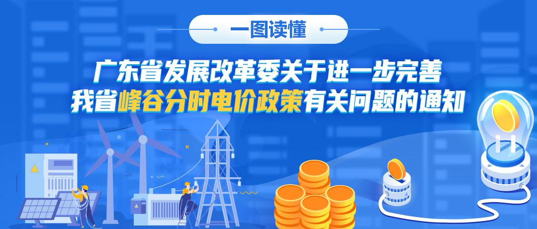 一图读懂 |  广东省发展改革委关于进一步完善我省峰谷分时电价政策有关问题的通知