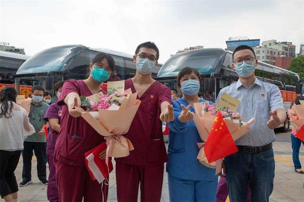 中山一院重症医学医疗队圆满完成支援任务,平安归来