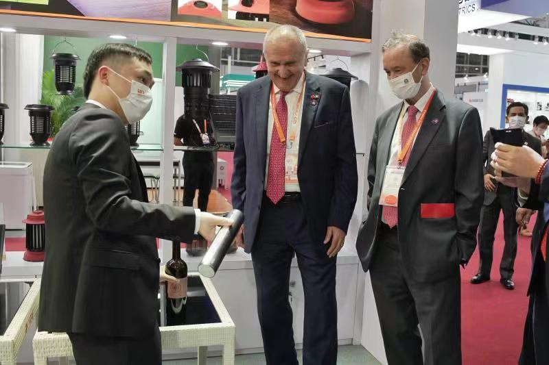 What is the most attractive product to your country in Canton Fair?