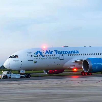 Direct flight links Guangzhou with Tanzania's Dar es Salaam