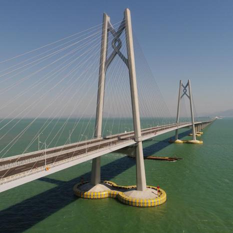 Hong Kong-Zhuhai-Macao Bridge: A mega project connects three places