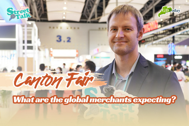 Street talk in Canton Fair   What are the global merchants expecting?