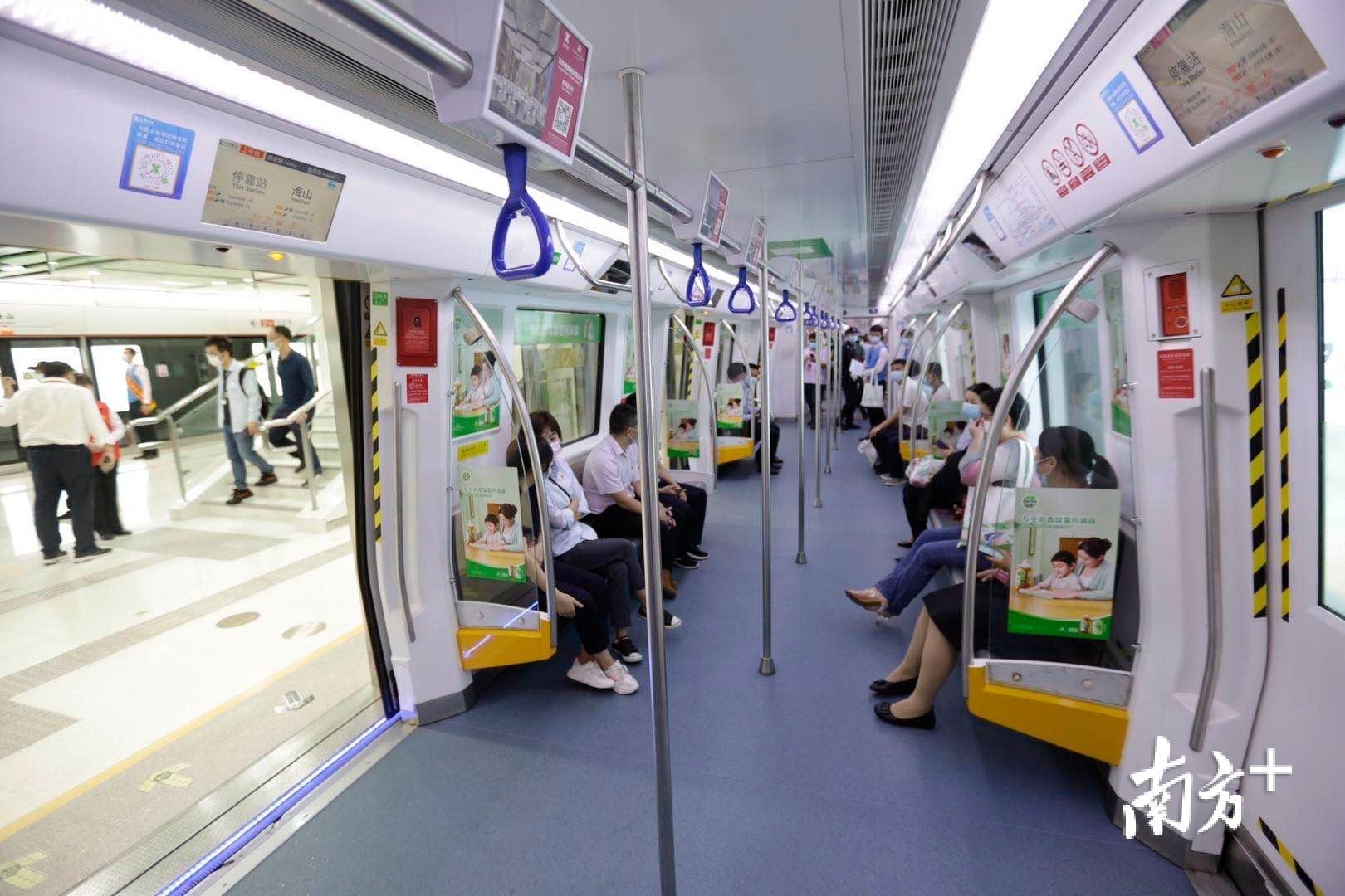 深圳地铁里程突破411公里