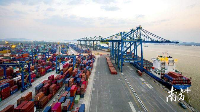 一季度广东外贸大增33.4%